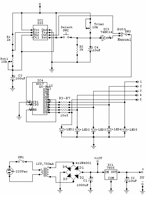 Camera Switcher - schematic