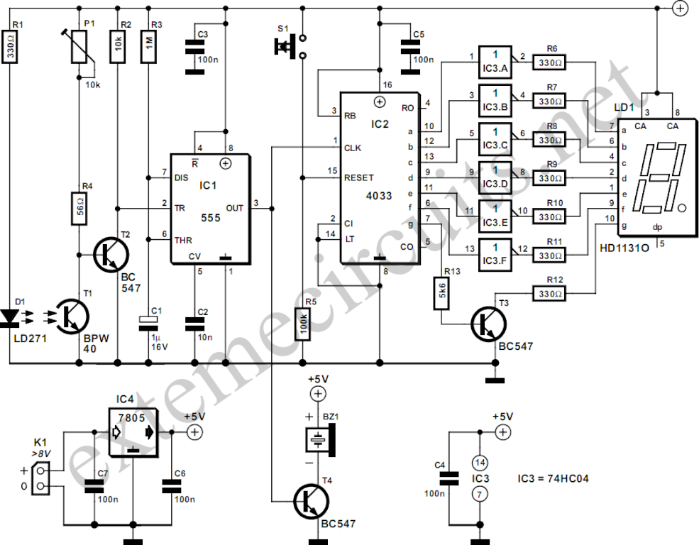 counter circuit page 6   meter counter circuits    next gr