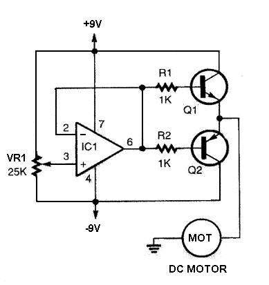 Popular circuits page 723 for Dc motor driver ic