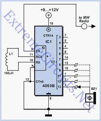 Microcontroller-Based Metal Detection System with