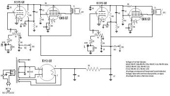 stereo tube power amplifier schematic