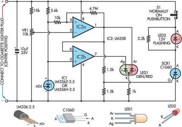 Car Battery Failure Detector Under Repository-circuits
