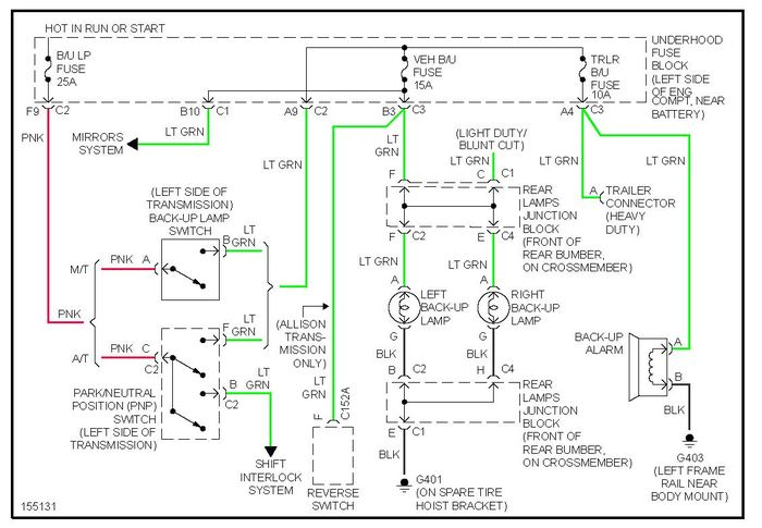 large  Gmc Sierra Trailer Light Wiring Diagram on