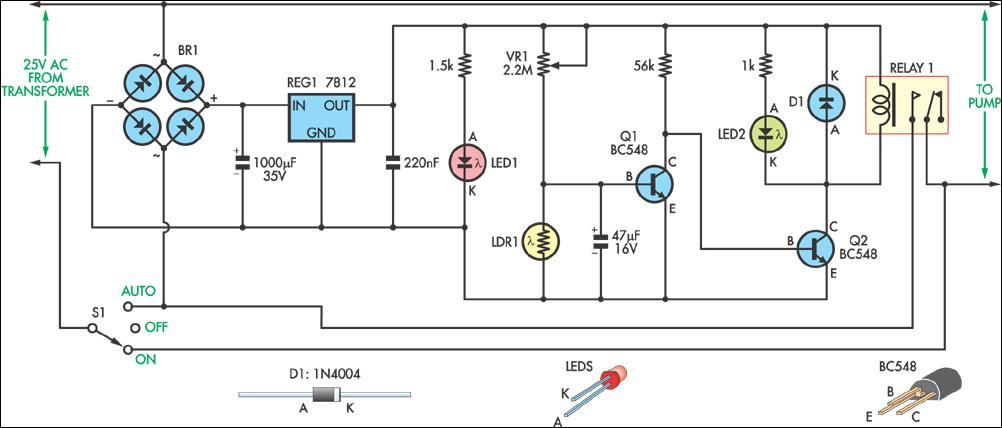 led strip wiring diagram 12v images converter 12v to 5v circuit additionally 12v photocell wiring diagram
