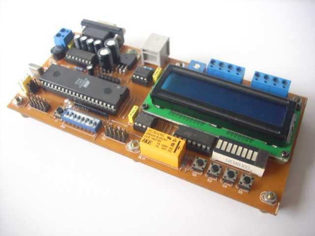 89Sxx Development Board - schematic
