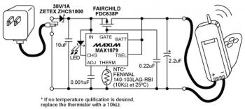 lithium ion li ion battery charger with - schematic