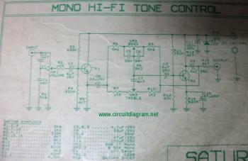Hi-Fi Tone Control - schematic