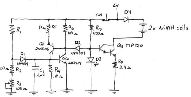 Sense Of Time Tester Circuit
