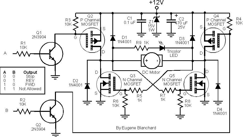 planning build mosfet h bridge motor control under repository-circuits