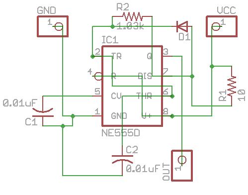 58mhz jammer - schematic
