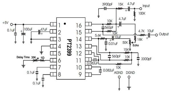 mic mixer with echo schematic diagram circuit and CB Radio Echo Mics microphone echo circuit diagram pdf