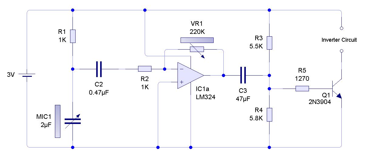 bass glow - schematic