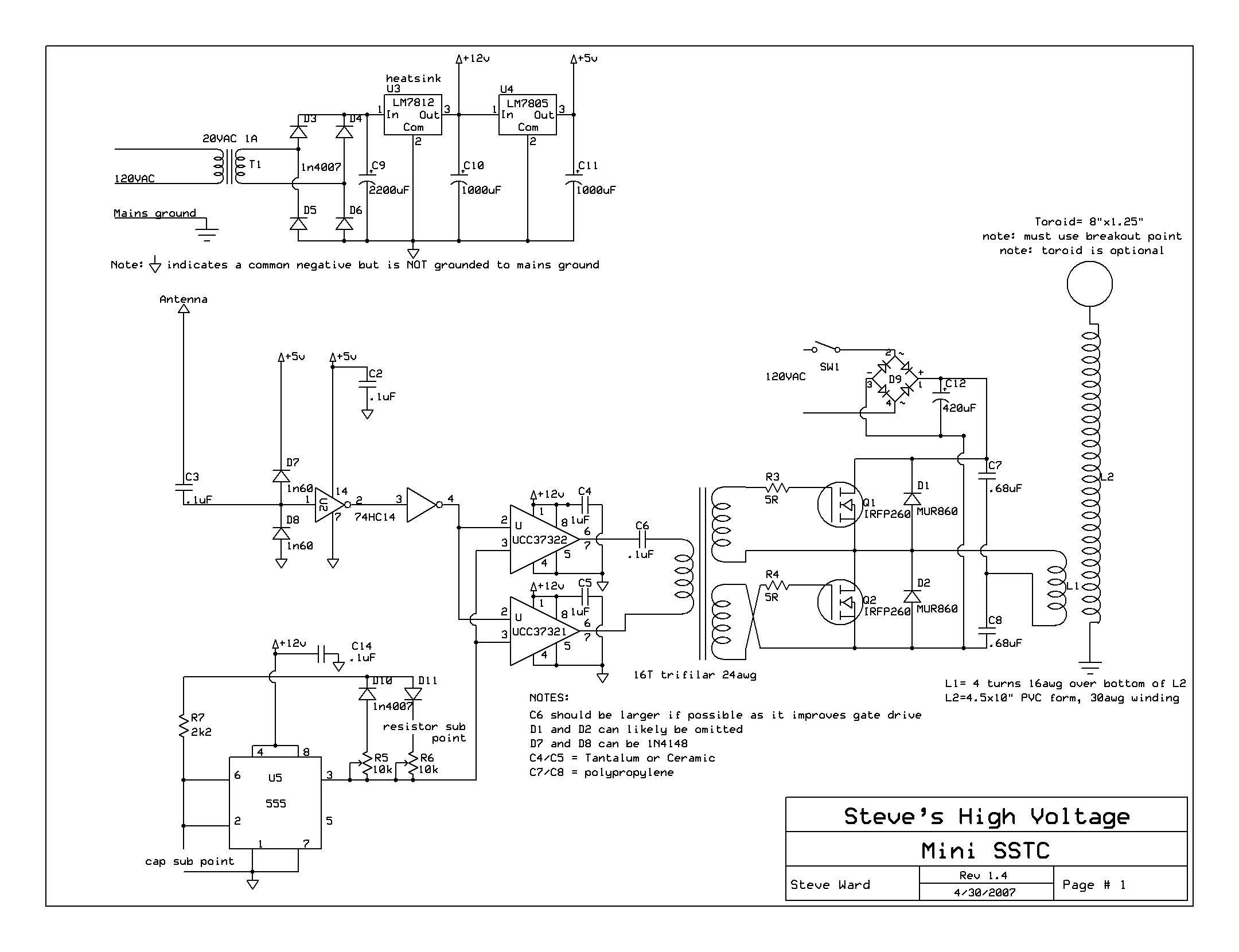 Results Page 185 About 3 Strobo Circuit Schematic Searching Figure 1 Block Diagram For The Theremin 555 Configured As In This