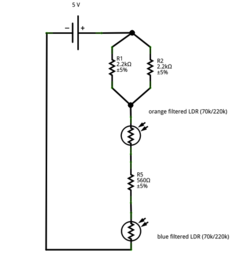Instrumentation circuit - schematic