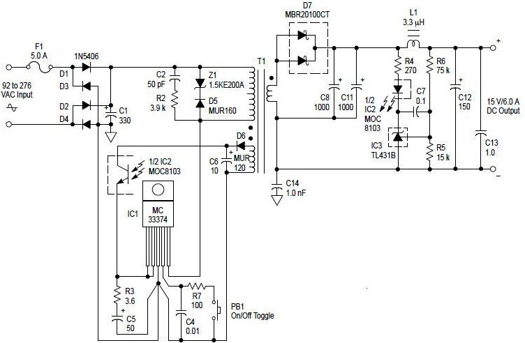 switching power supply page 6   power supply circuits