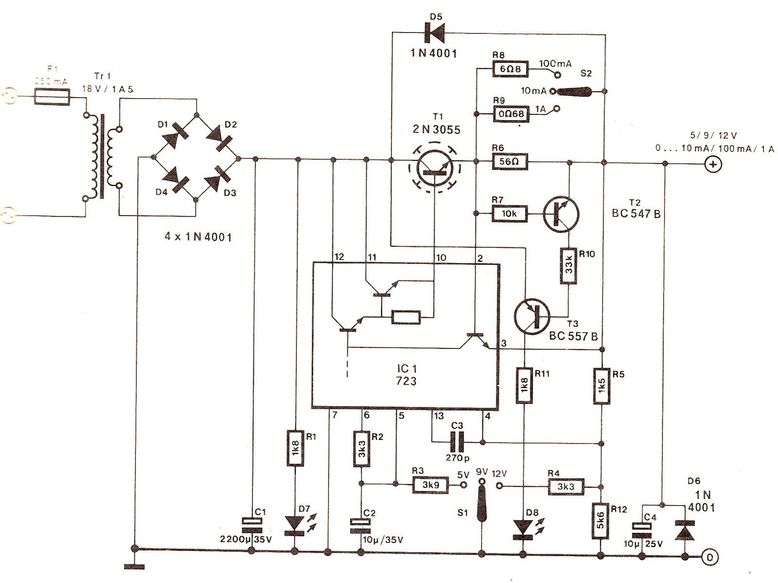 ic power amplifier circuit diagram