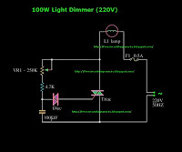100W LED Dimmer - schematic