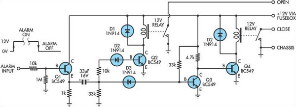 door lock circuit page 2   security circuits    next gr