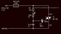 Simple Lamp Dimmer Fan Regulator - schematic