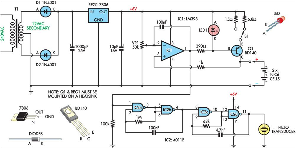 Matek 5 1 Led Power Hub V3 Pdb 512v Bec Buzzer also Light Alarm Circuit further Simple Cable Tester moreover Electronics Projects List For Engineering Students likewise Index4. on alarm buzzer circuit