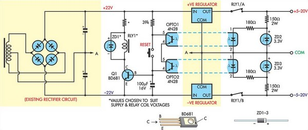 short circuit protection for balanced supply rails circuits \u003e short circuit protection for balanced l33173 next gr short circuit wiring diagram at aneh.co