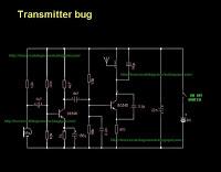 FM Transmitter Bug - schematic