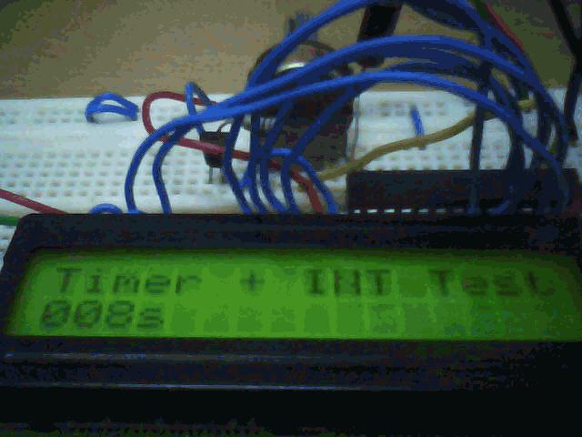 Timer and Interrupt - schematic