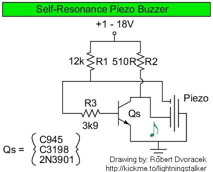 Buzzer - schematic