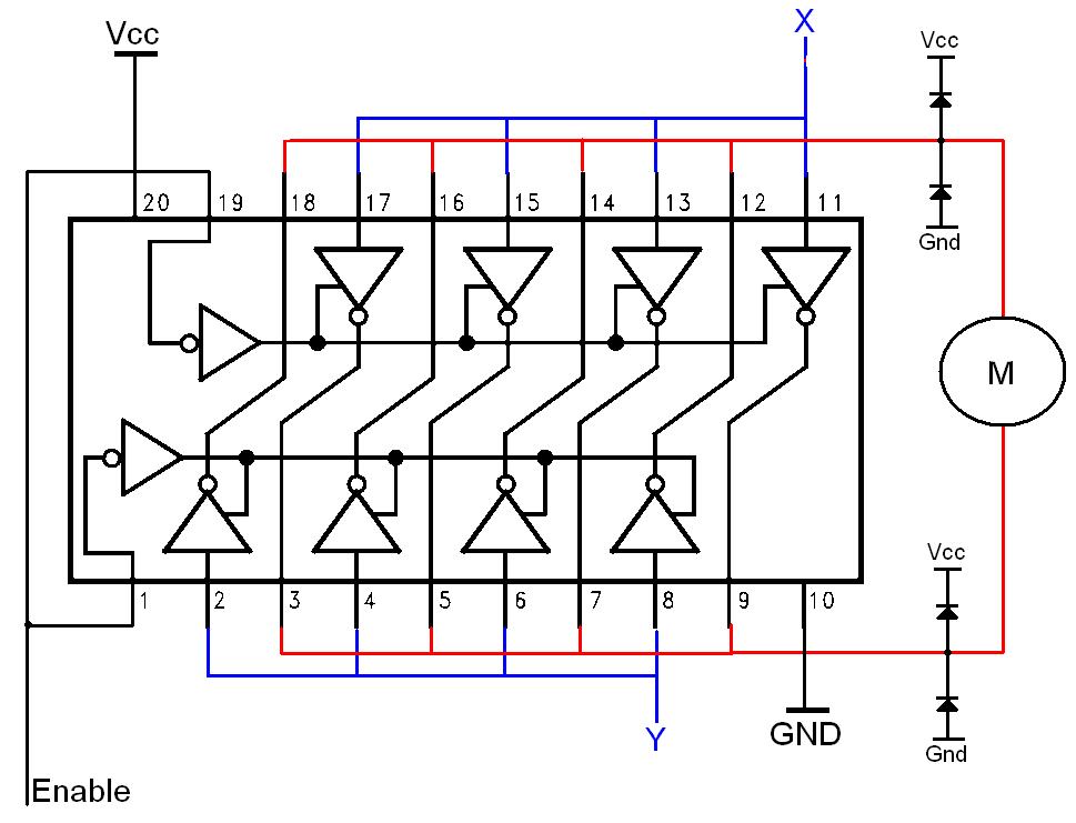 Simple H-bridges Tutorial Under Repository-circuits