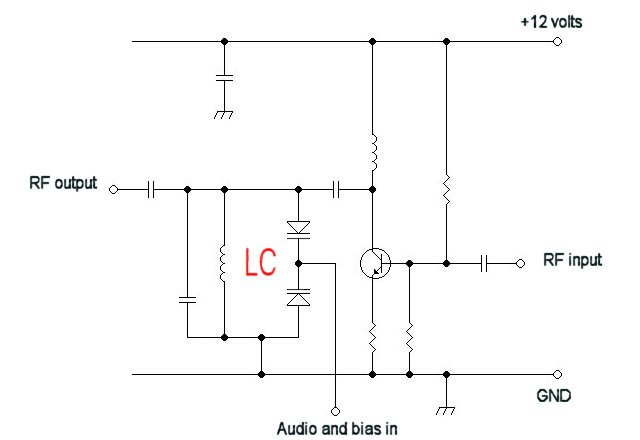 Electronics/Transmitter design - schematic