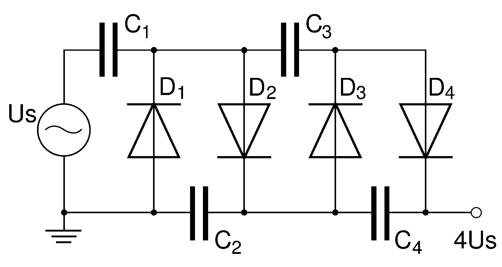 Voltage Multiplier diagram
