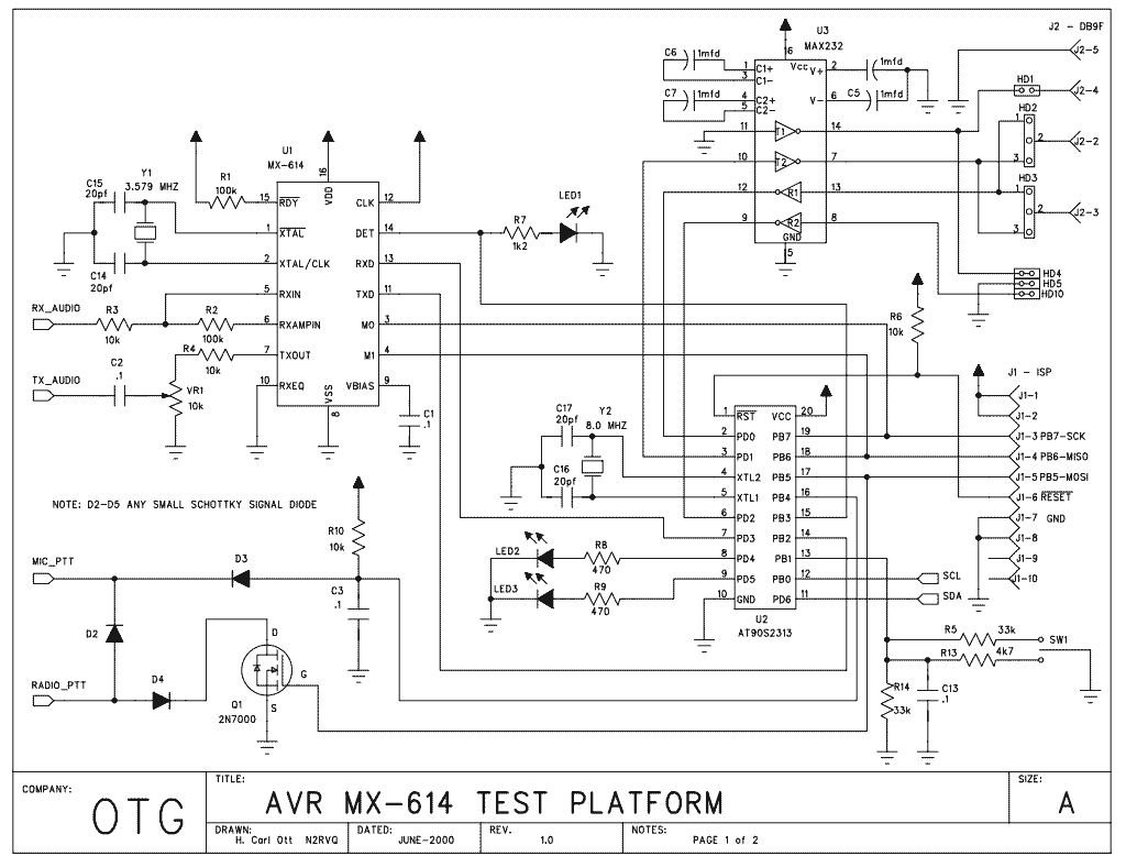 New Circuits Page 207 Mcu Controlled Superregeneration With Quartz Oscillators Packet Radio Avr