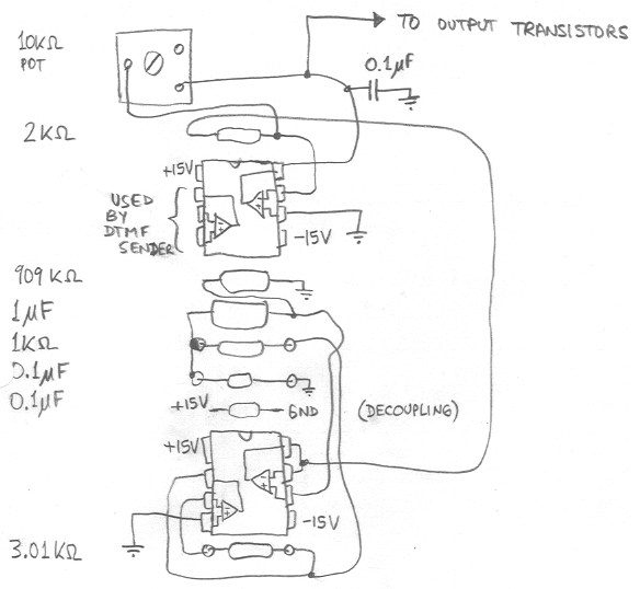 homepage pbx - schematic