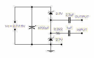 Audio Attenuator - schematic