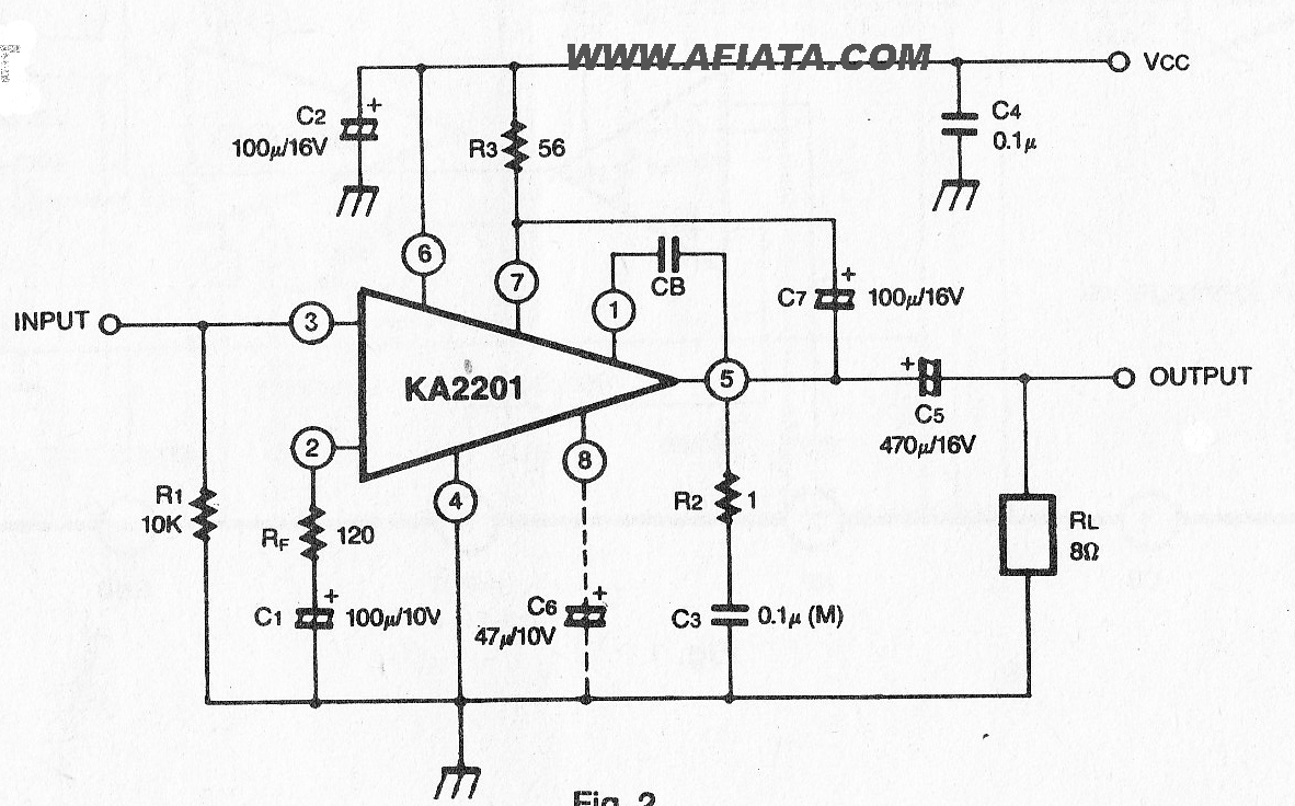 Audio Amplifier Circuit Page 16 Circuits 10w Using Tda2003 Power