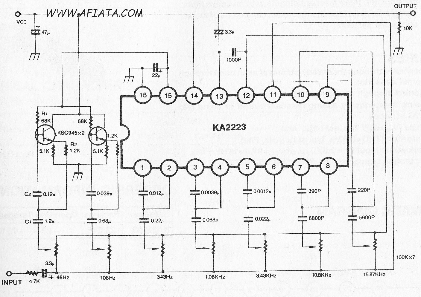 Top Circuits Page 140 4 X 55w Power Amplifier By Tda7560 4x55w Audio Circuit Diagram Using 5 Band Graphic Equalizer