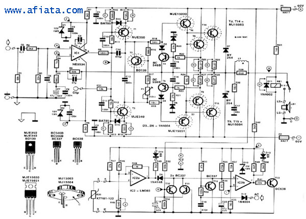u0026gt  circuits  u0026gt  800w schematic diagram of 800 watt audio