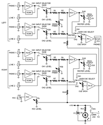 mic mixer circuits