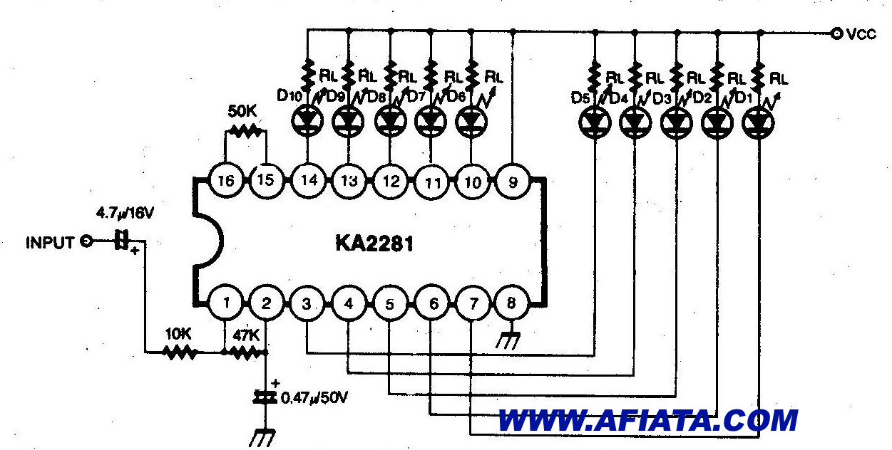 Vu Meter Circuit Page 2 Counter Circuits Sound Detector Using Lm324 Audio Mono