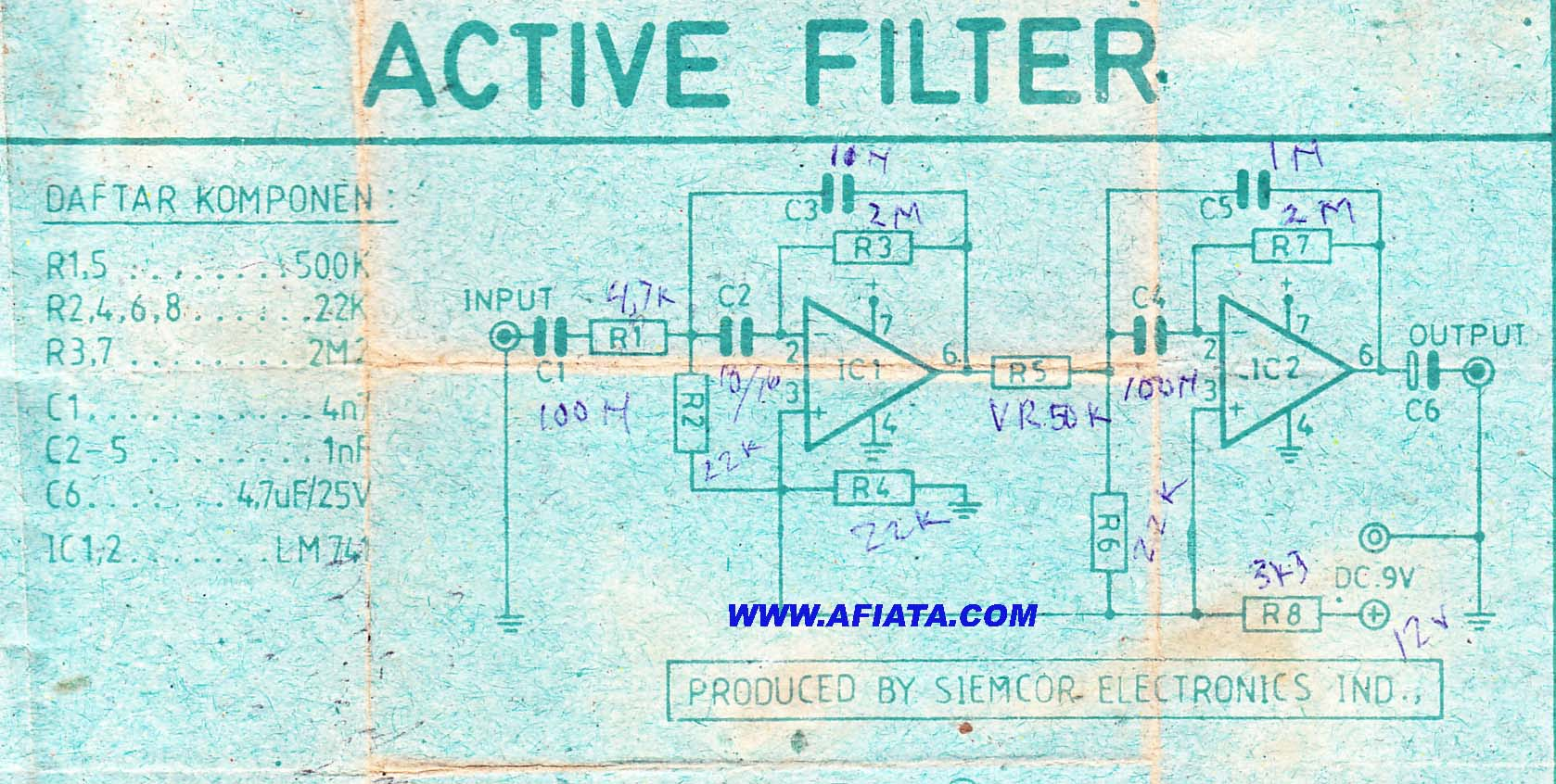 Audio Filter Circuit Page 5 Circuits High Pass Diagram Best Active