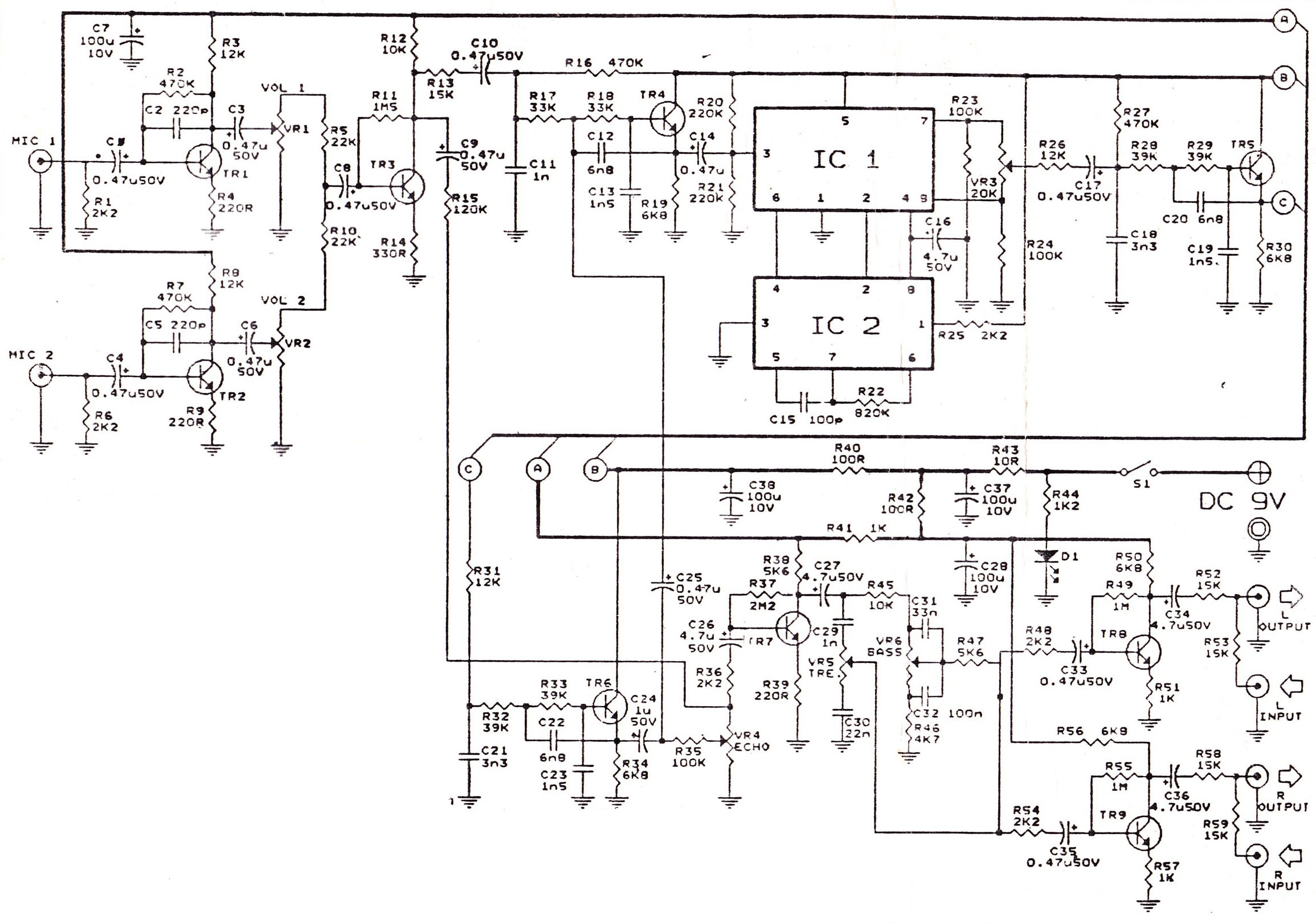 Audio Preamplifiers Circuits Page 7 : Audio Circuits :: Next gr