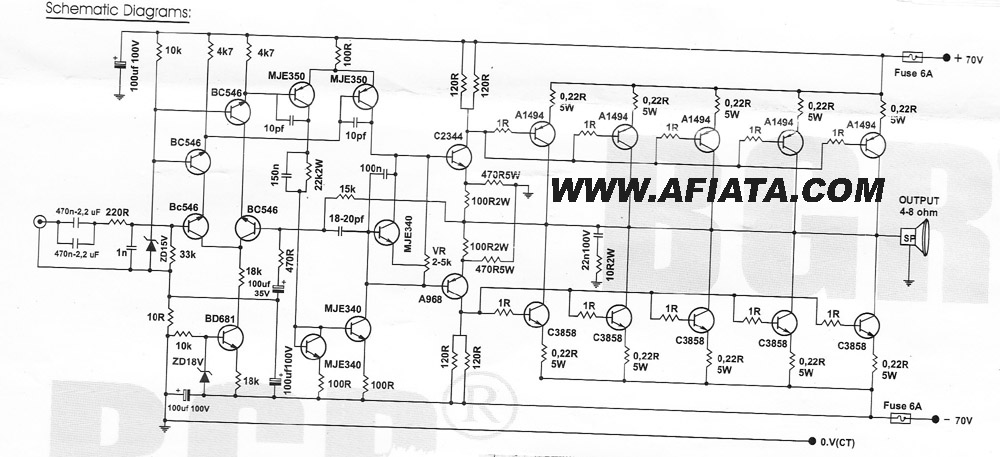 power amp 10 000w circuit diagram   repository