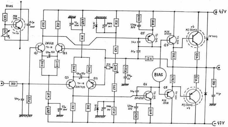 Results page 141, about '600 watt audio amplifier LM4702
