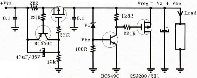Frequency converter circuit - schematic