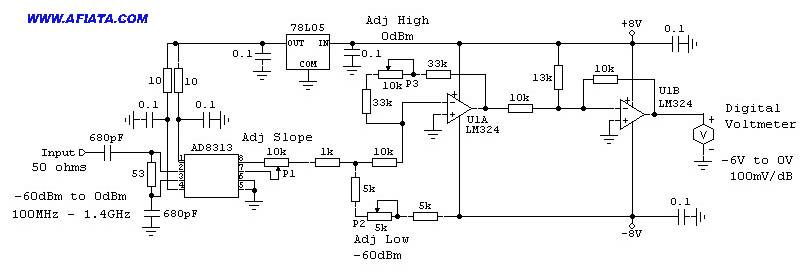 vu meter schematic - schematic
