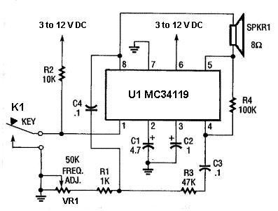 mini audio amp circuit