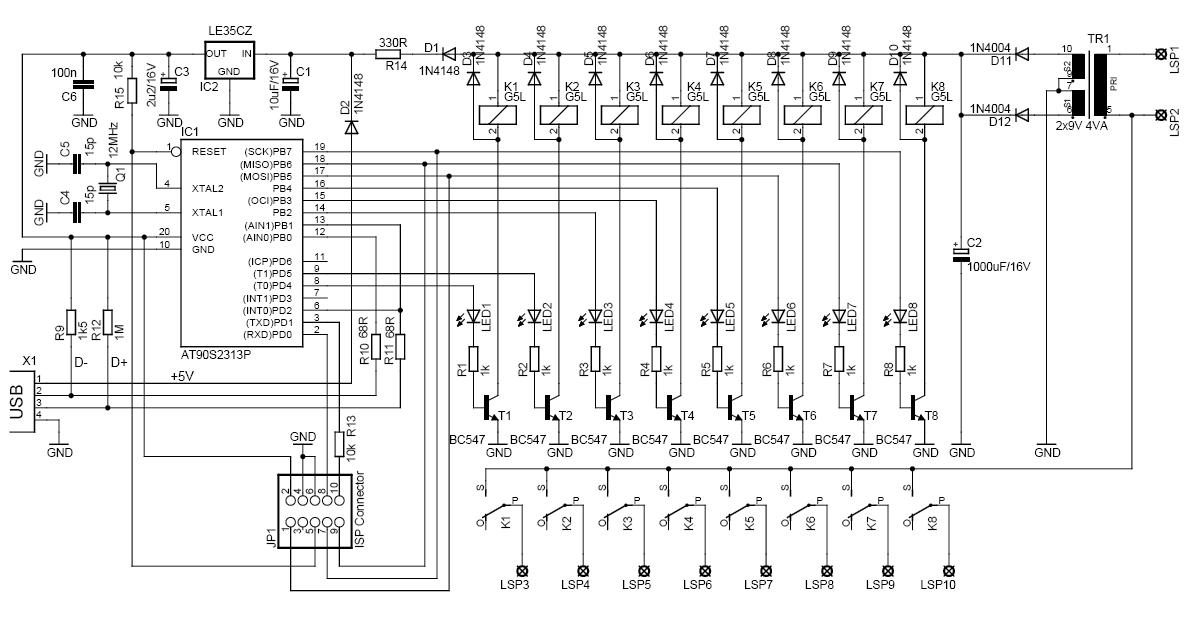 usb circuit page 5   computer circuits    next gr