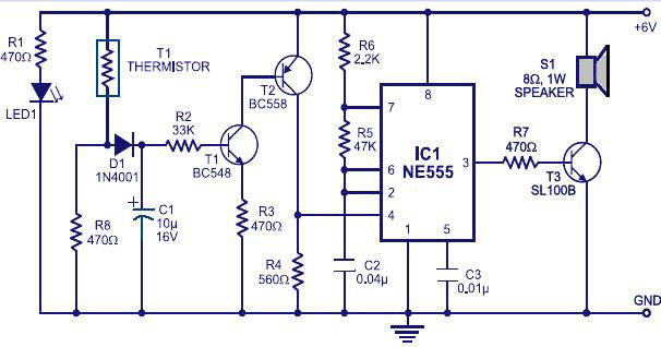 fire alarm circuit diagram for home security
