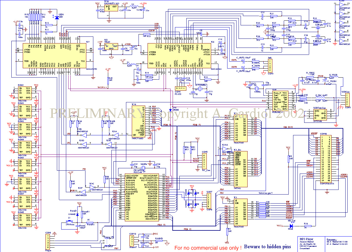 Schematics Mainboard