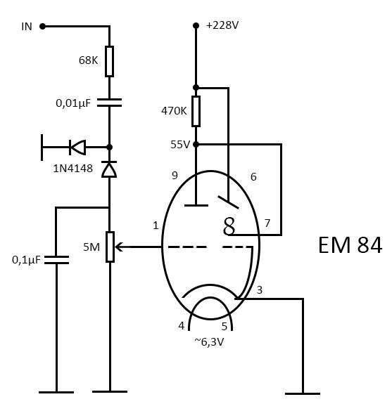 u0026gt  circuits  u0026gt  vu meter em84 l34482